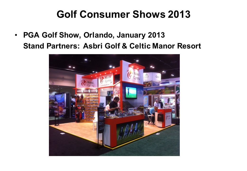 Golf Consumer Shows 2013 PGA Golf Show, Orlando, January 2013