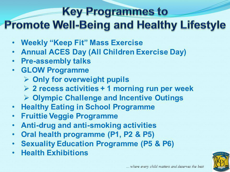 Promote Well-Being and Healthy Lifestyle