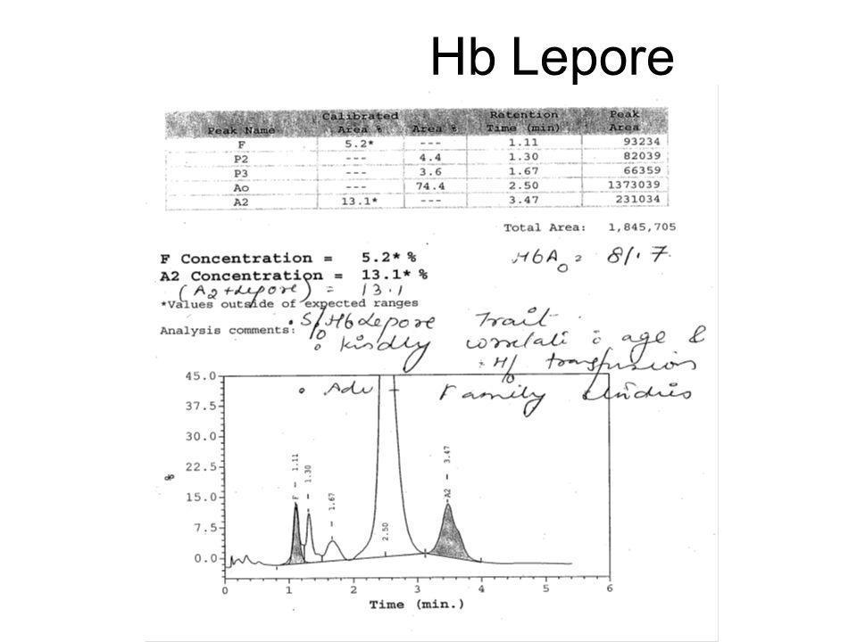 Hb Lepore