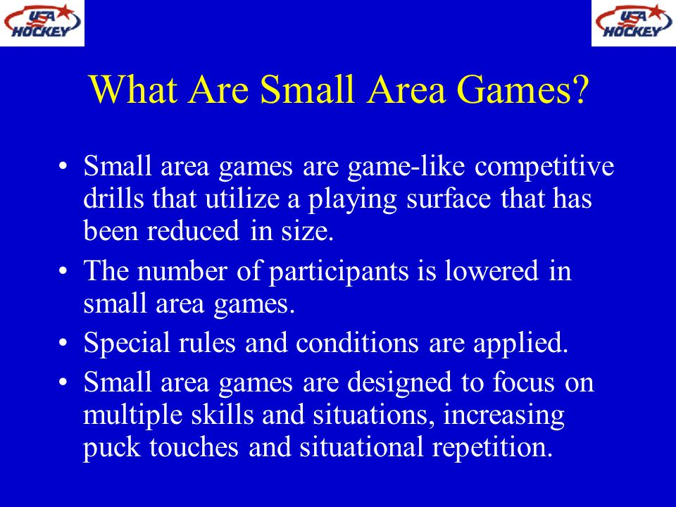 What Are Small Area Games