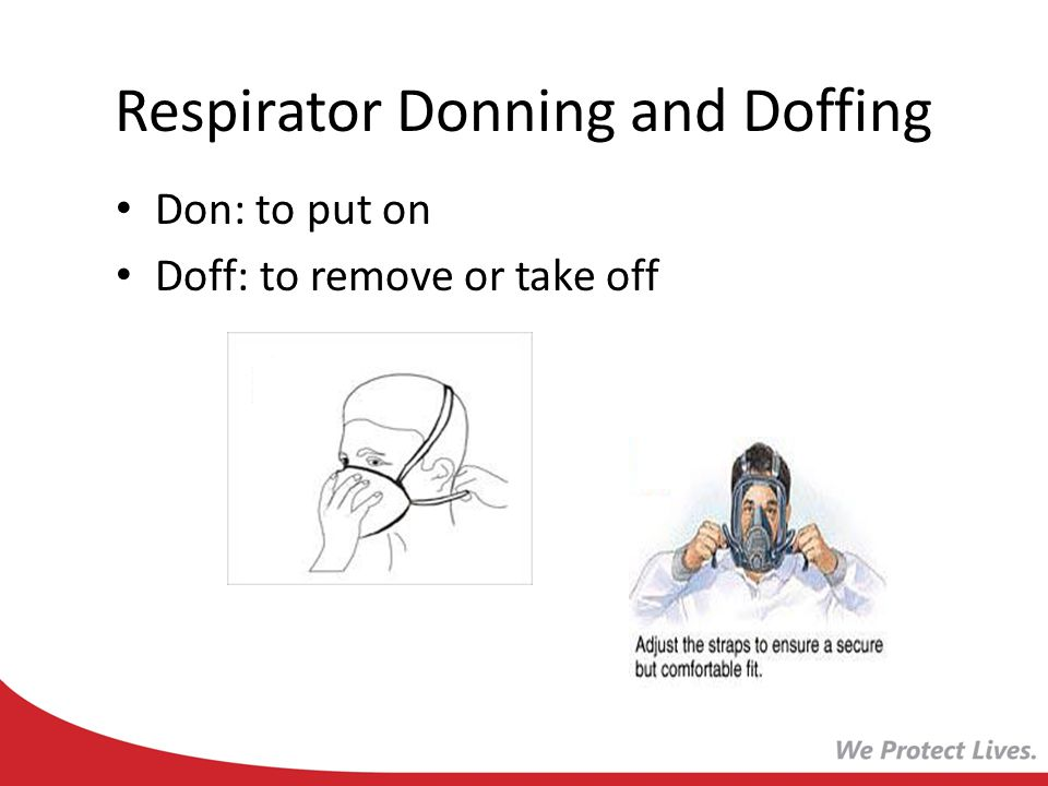 Respirator Donning and Doffing