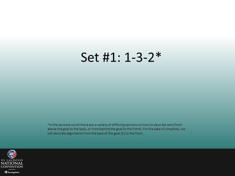 Set #1: 1-3-2*