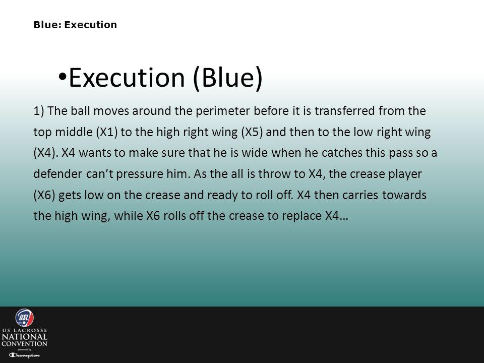 Blue: Execution Execution (Blue)