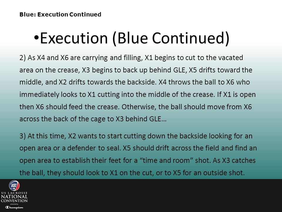 Execution (Blue Continued)