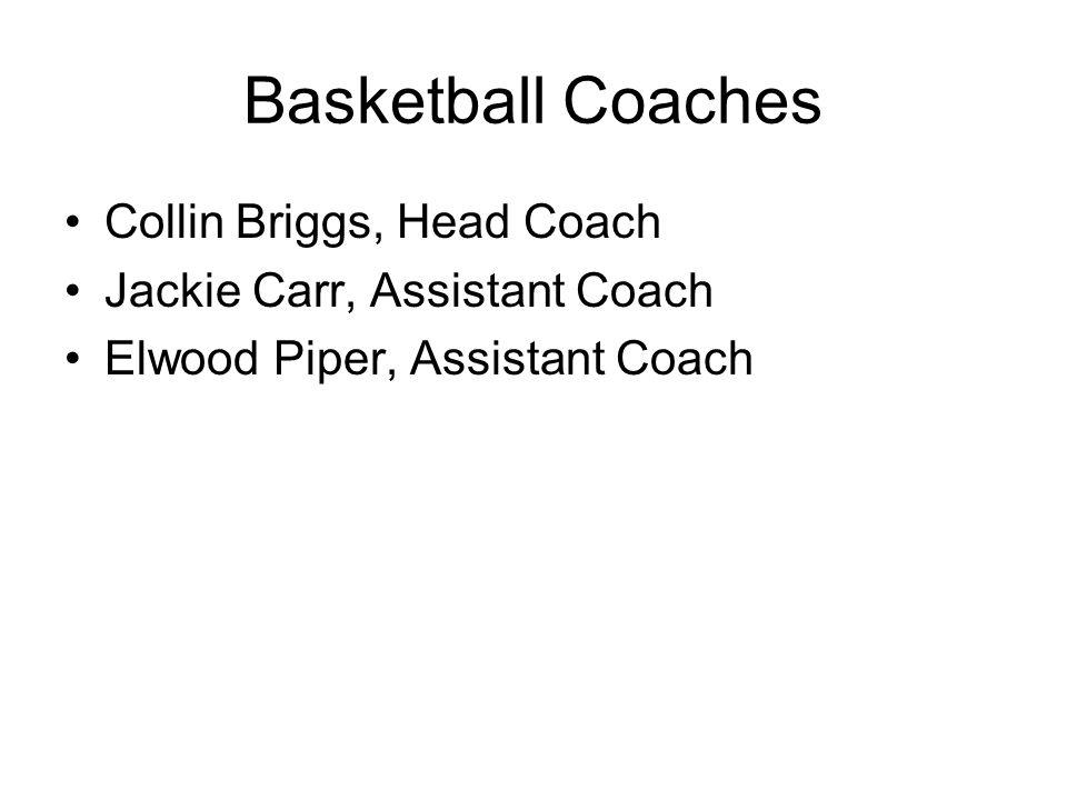 Basketball Coaches Collin Briggs, Head Coach
