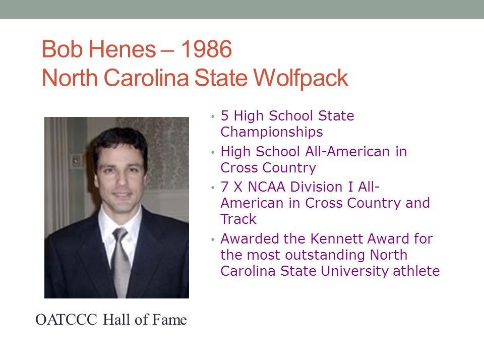 Bob Henes – 1986 North Carolina State Wolfpack