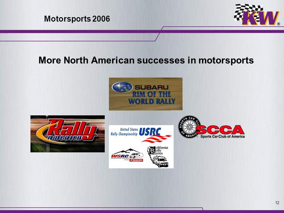 More North American successes in motorsports