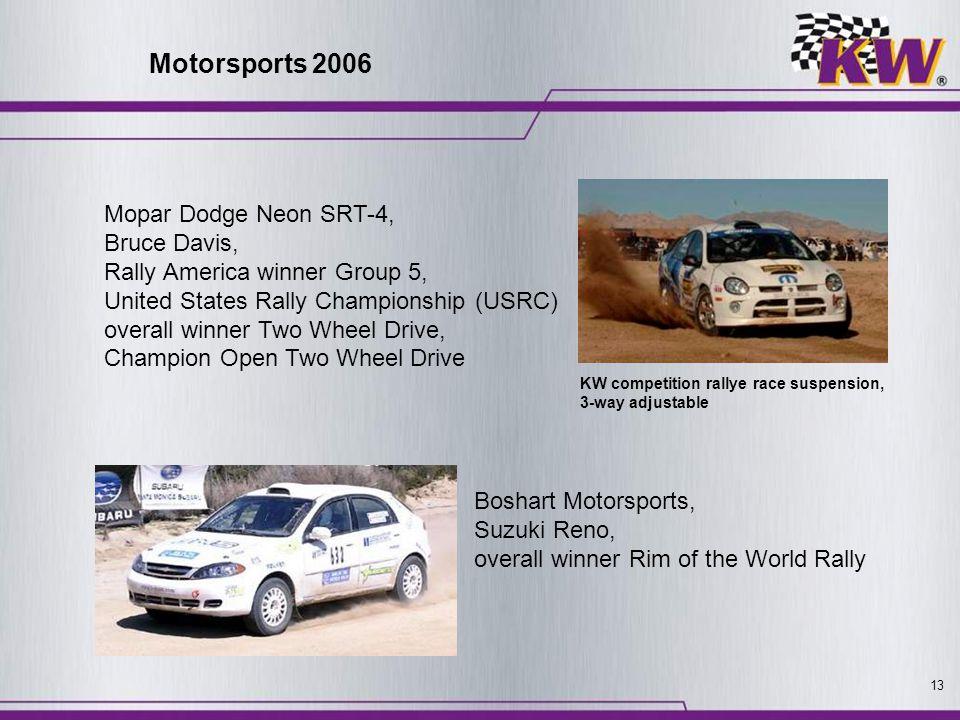 Motorsports 2006 Mopar Dodge Neon SRT-4, Bruce Davis,