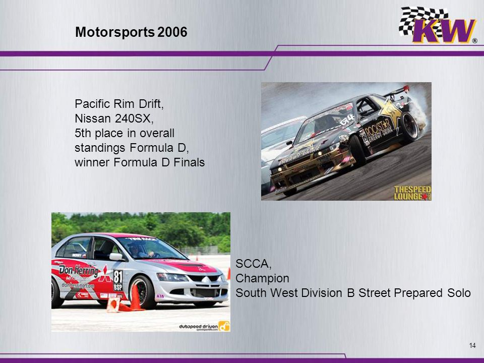 Motorsports 2006 Pacific Rim Drift, Nissan 240SX,
