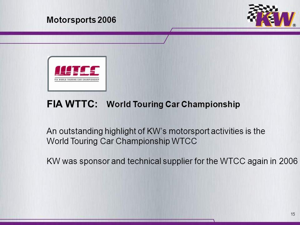 FIA WTTC: World Touring Car Championship