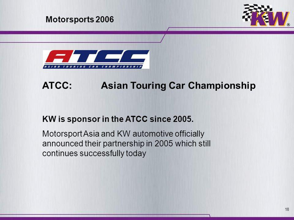 ATCC: Asian Touring Car Championship