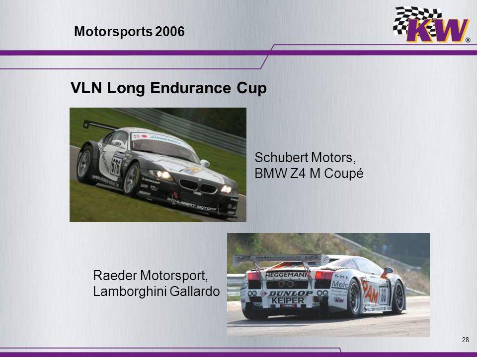 VLN Long Endurance Cup Motorsports 2006 Schubert Motors,
