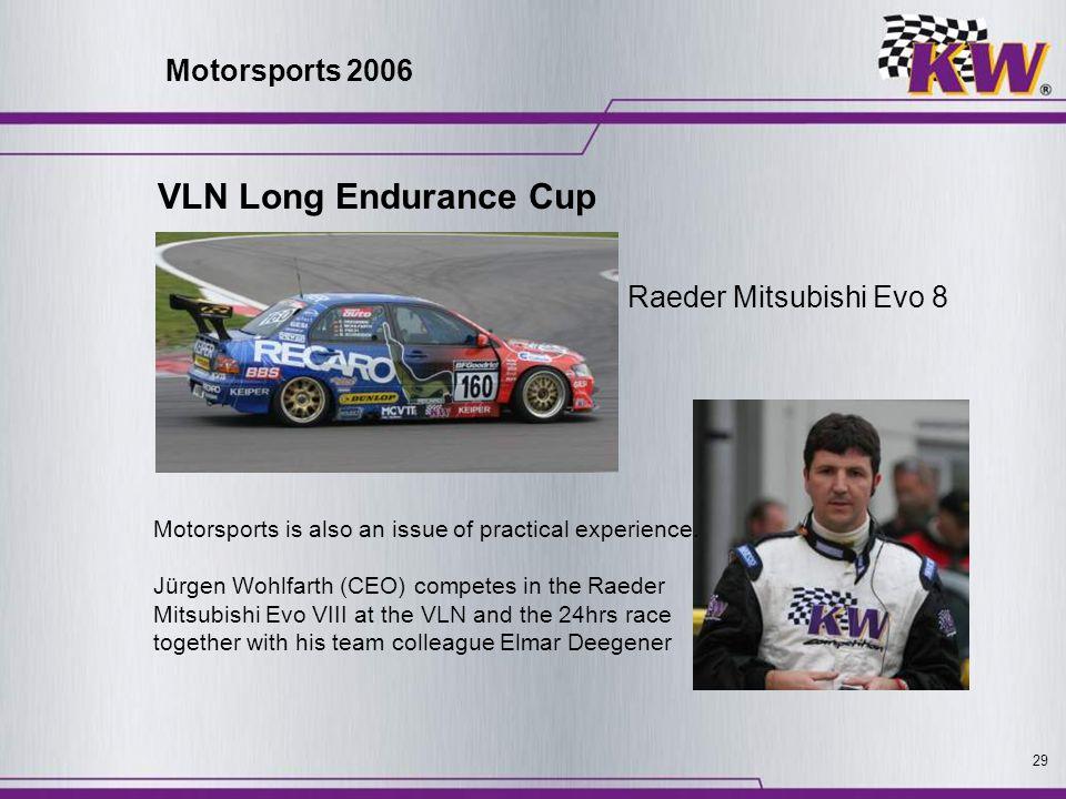 VLN Long Endurance Cup Motorsports 2006 Raeder Mitsubishi Evo 8