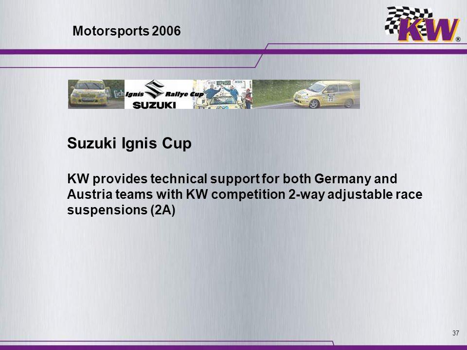 Suzuki Ignis Cup Motorsports 2006