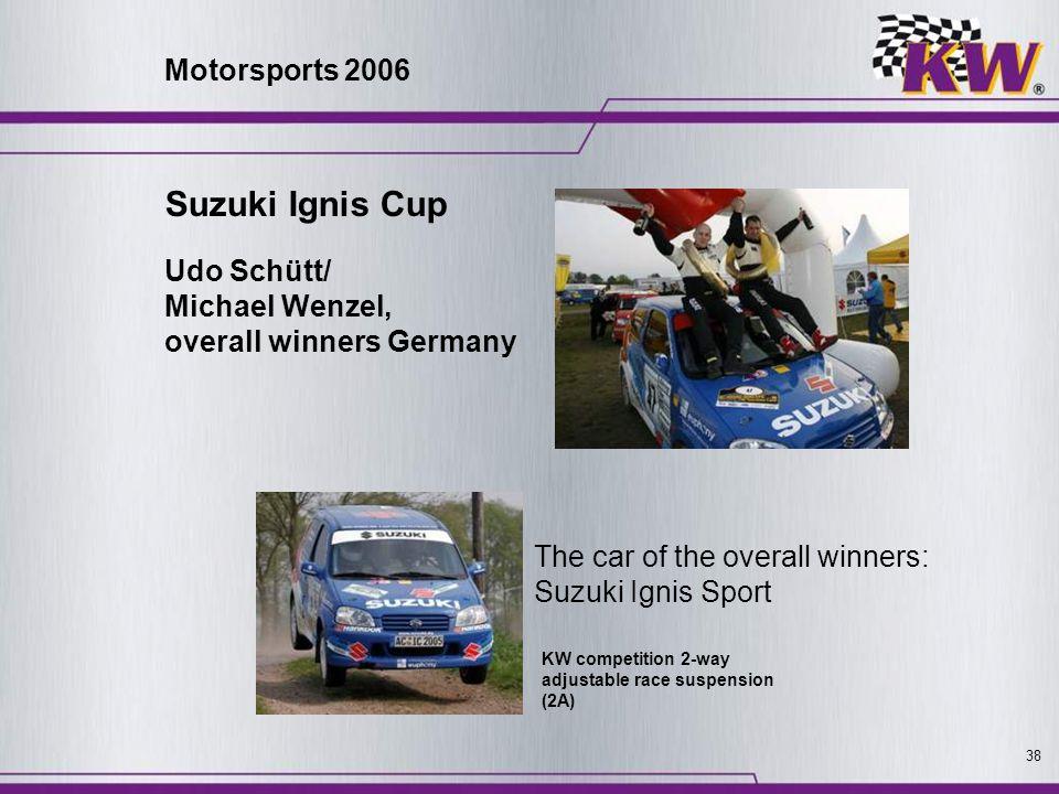 Suzuki Ignis Cup Motorsports 2006 Udo Schütt/ Michael Wenzel,
