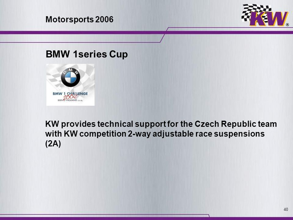 BMW 1series Cup Motorsports 2006