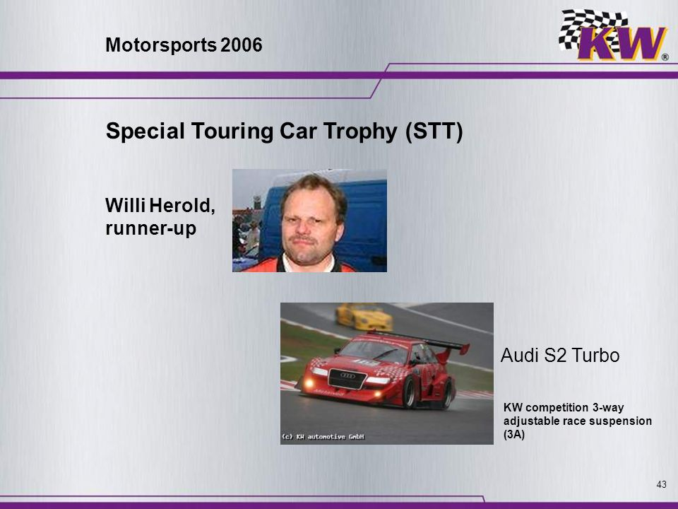 Special Touring Car Trophy (STT)