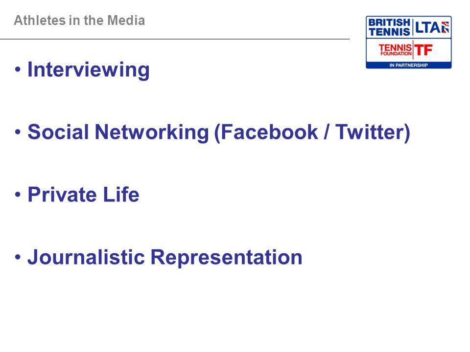 Social Networking (Facebook / Twitter)