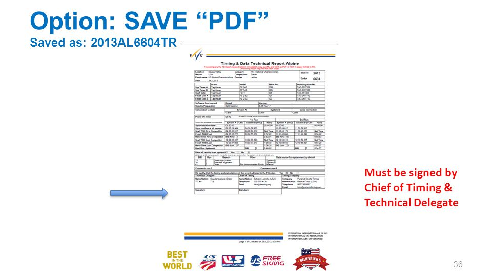 Option: SAVE PDF Saved as: 2013AL6604TR