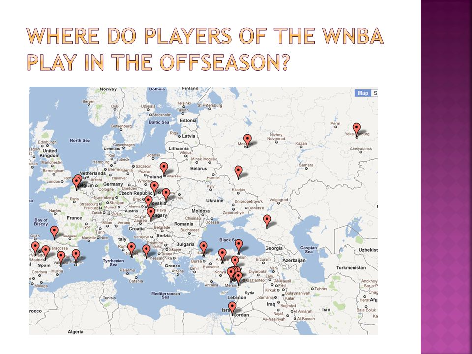 Where do players of the wnba play in the offseason