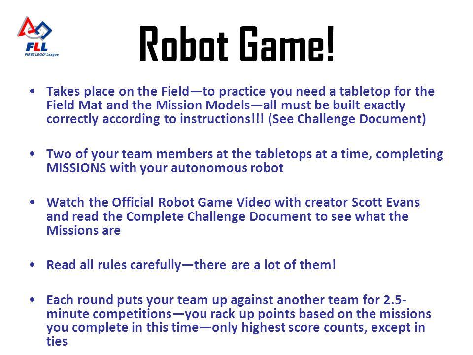 Robot Game!