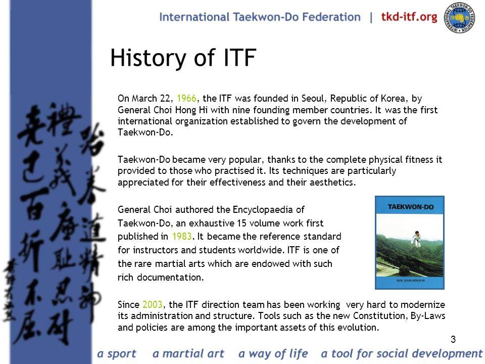 History of ITF