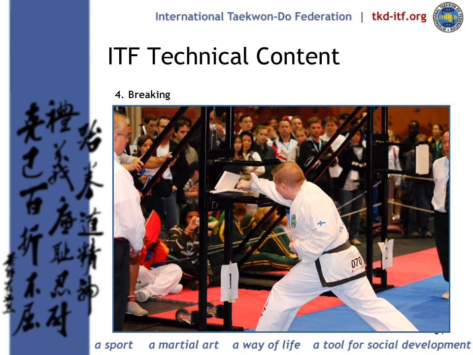 ITF Technical Content 4. Breaking