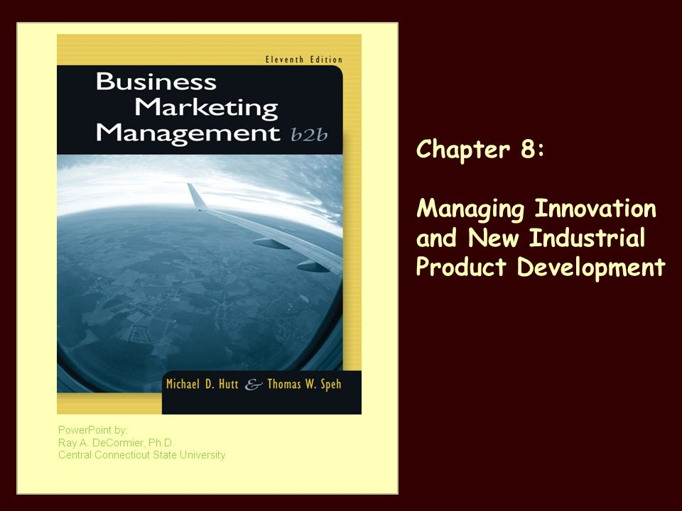 Managing Innovation and New Industrial Product Development
