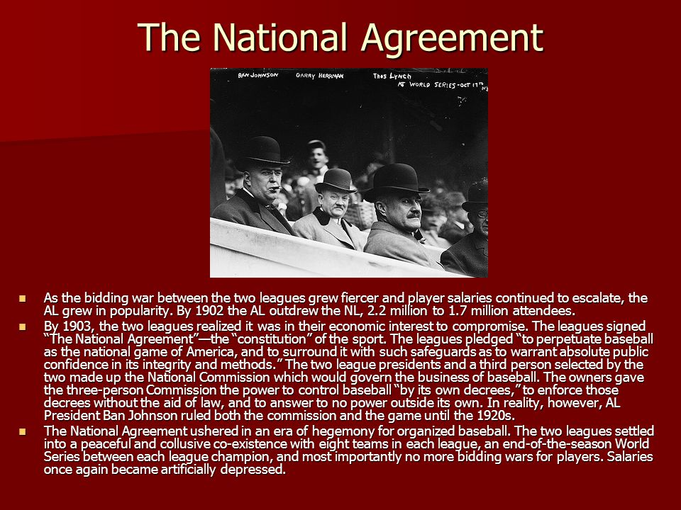 The National Agreement