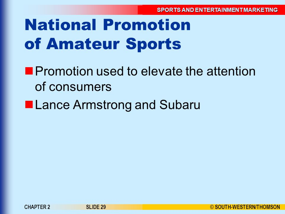 National Promotion of Amateur Sports
