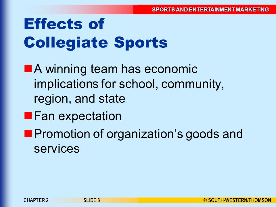Effects of Collegiate Sports