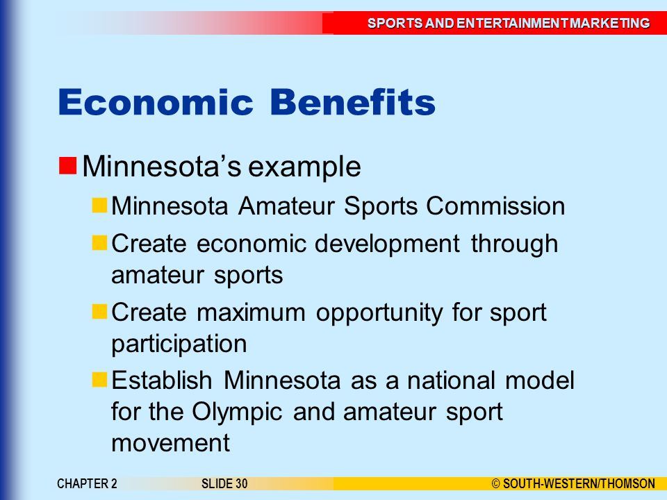Economic Benefits Minnesota's example