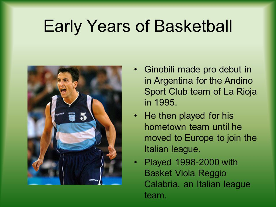 Early Years of Basketball