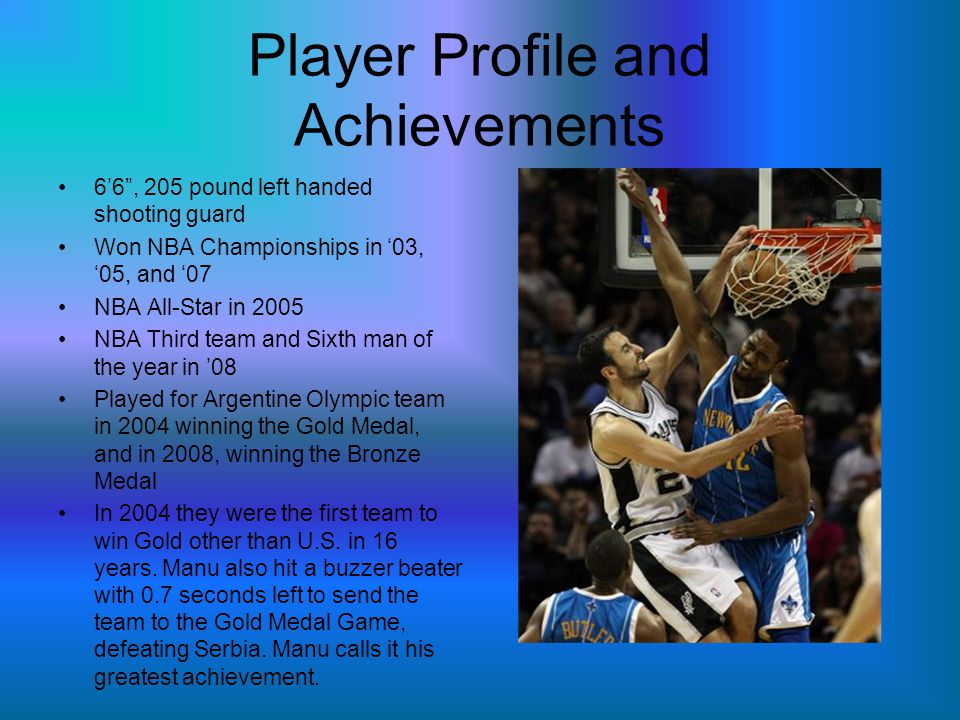 Player Profile and Achievements