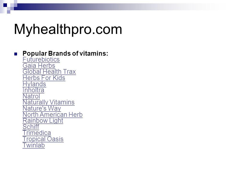 Myhealthpro.com