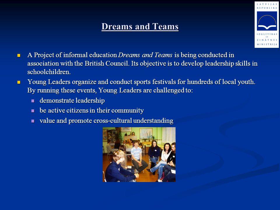 Dreams and Teams