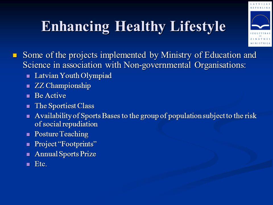 Enhancing Healthy Lifestyle