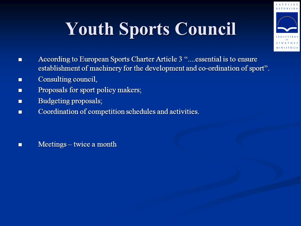 Youth Sports Council