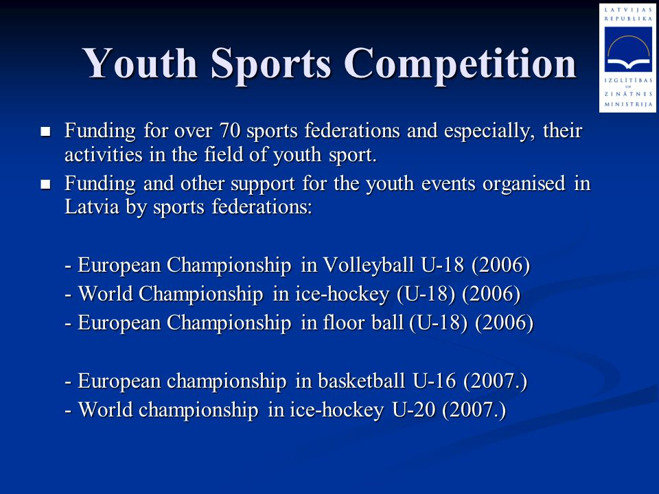 Youth Sports Competition