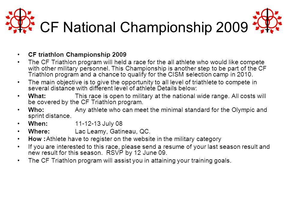 CF National Championship 2009
