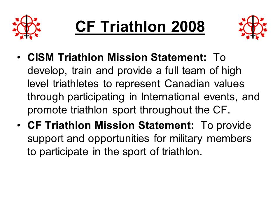 CF Triathlon 2008