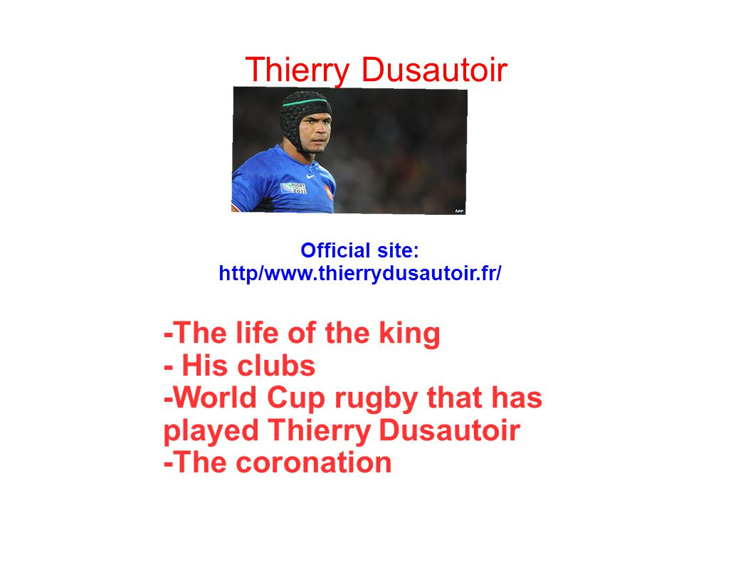 Thierry Dusautoir -The life of the king - His clubs