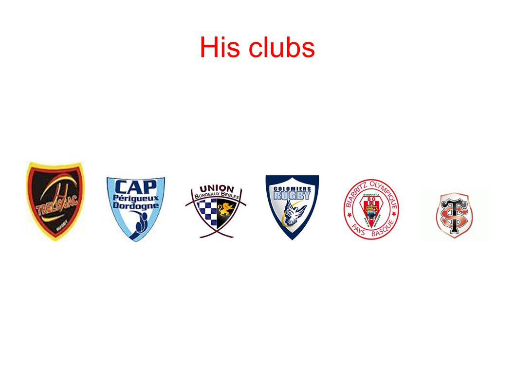 His clubs