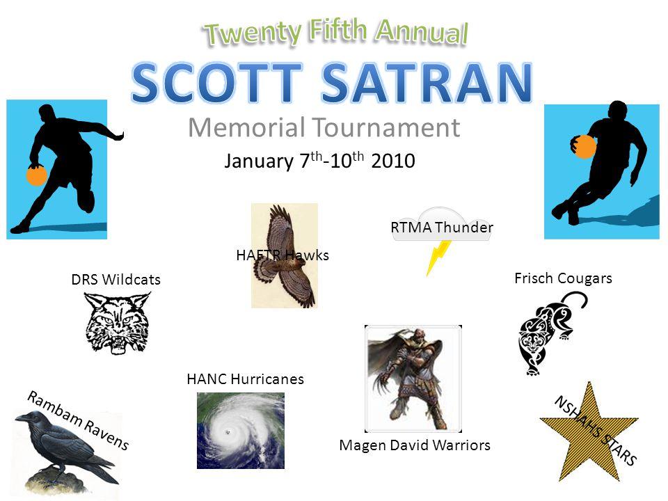 SCOTT SATRAN Twenty Fifth Annual Memorial Tournament