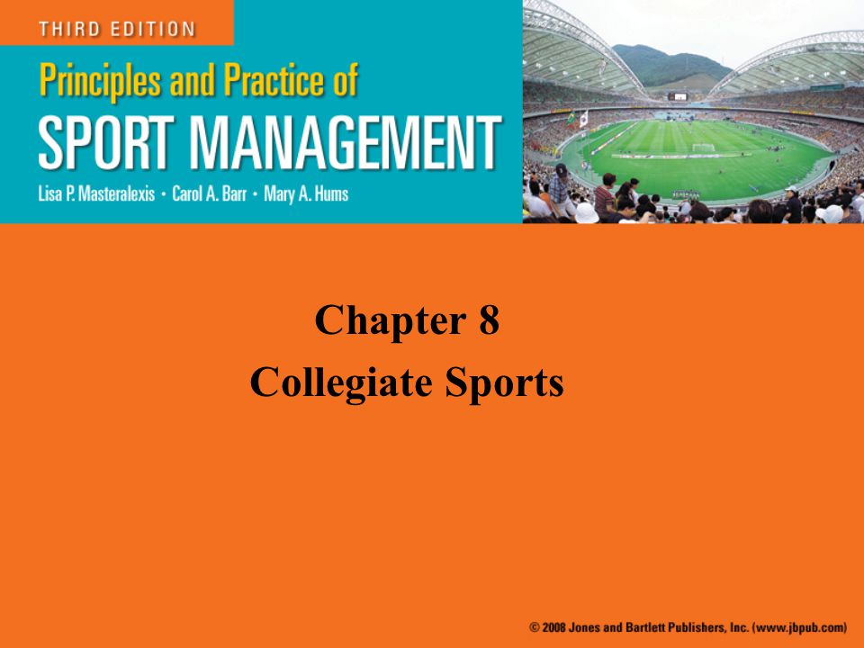 Chapter 8 Collegiate Sports