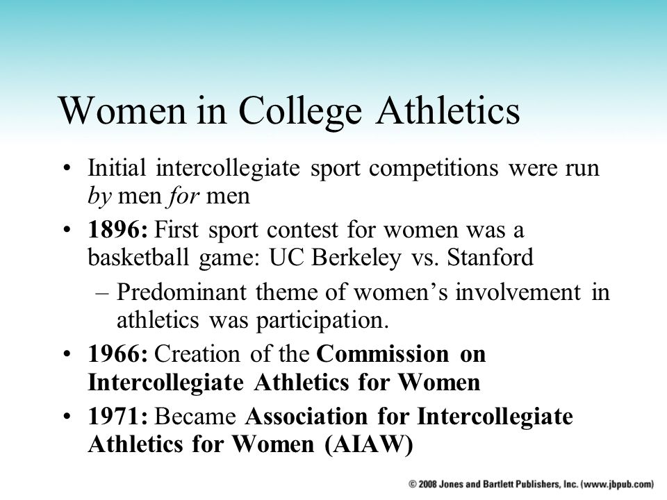 Women in College Athletics