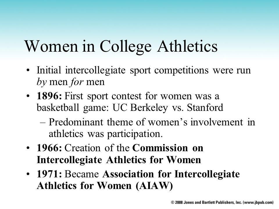 Women in College Athletics