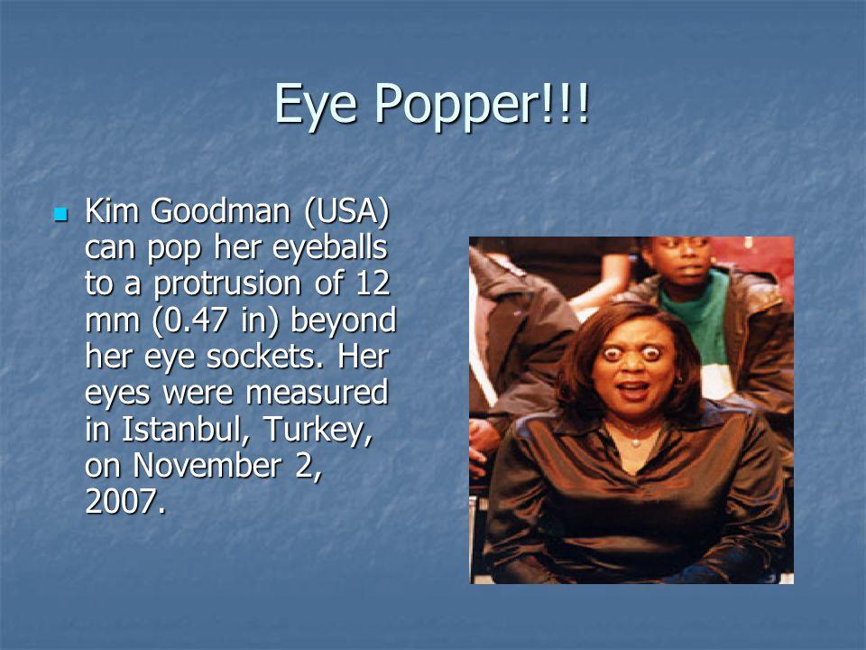 Eye Popper!!!