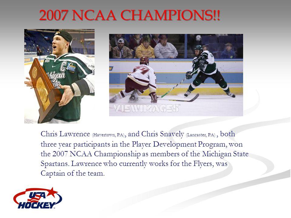 2007 NCAA CHAMPIONS!!