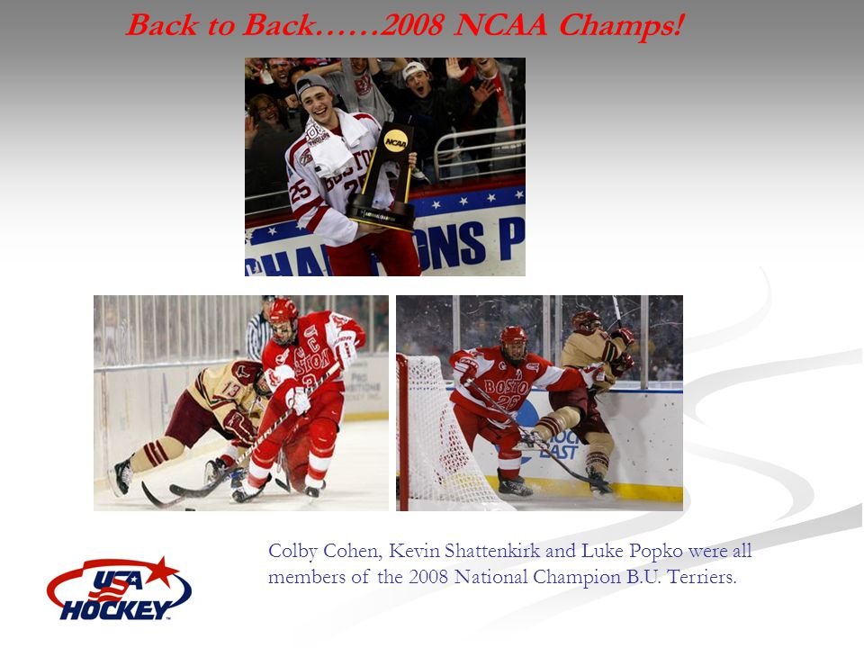 Back to Back……2008 NCAA Champs!